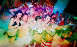 Hard Rock Foam Party